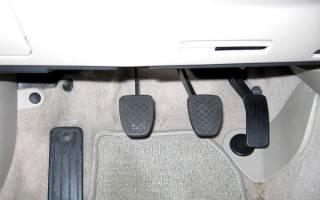 Скрипит педаль сцепления ВАЗ 2110 при нажатии