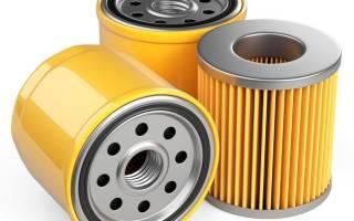Какие фильтры менять при замене масла?